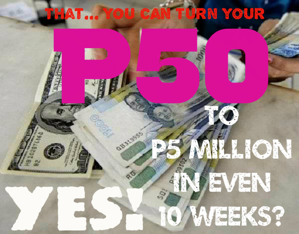 that you can turn P50 to P5M
